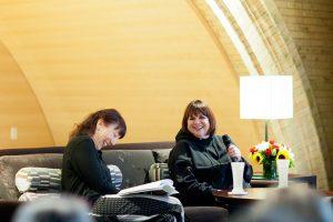 Linda Ronstadt with Julie Greer
