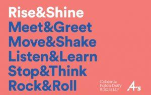 Rise&Shine 2018 program